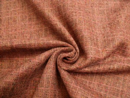 100% Pure Wool Irish Fancy Tweed Fabric AZ76